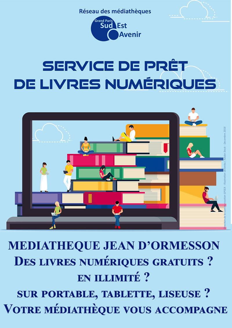 Médiathèque : vos livres en numérique
