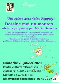Une saison avec Saint Exupéry : atelier dessin