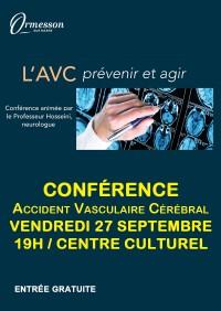 Conférence : AVC, prévenir et agir