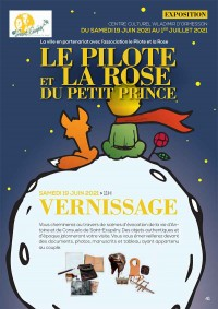Exposition : Le Pilote et la Rose du Petit Prince