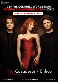 Le trio Casadesus Enhco, une histoire de musique et de famille
